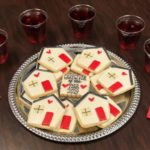 cookies and punch for caregiver celebration