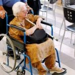 senior in wheelchair
