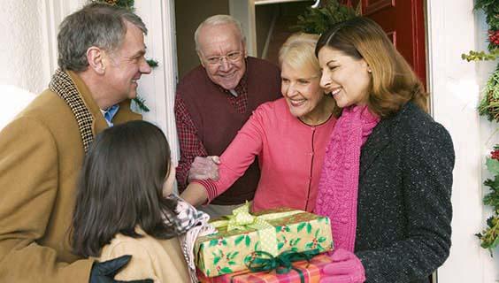 holiday family gathering