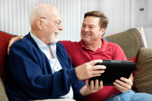father-and-son-family caregiver