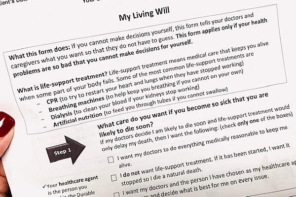 Living will, advance directives