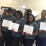 White Hall CNA Fast Track students graduate training program.