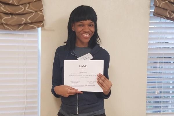 caregiver & CNA Training graduates