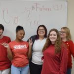 CNA Students Go Red