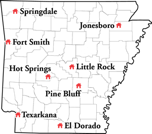 SHCT Sites Map