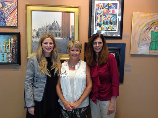 Pictured from left to Right Molly Arnold, Sherry White and Betsy Broyles
